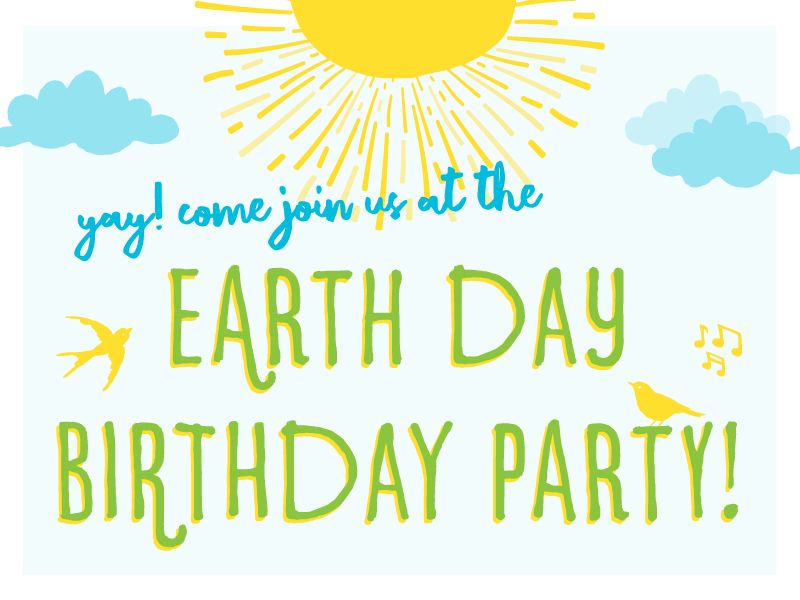 Its Everyones Birthday At This Party Come Celebrate With Earth Friendly Crafts Treats And Musical Activities She Rock