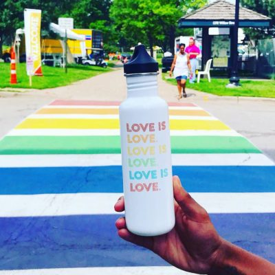 Happy Pride Minneapolis!🏳️ We are proud to celebrate our beautifully diverse community everyday! Love is Love.️🧡  #proudeveryday #loveislove #pride
