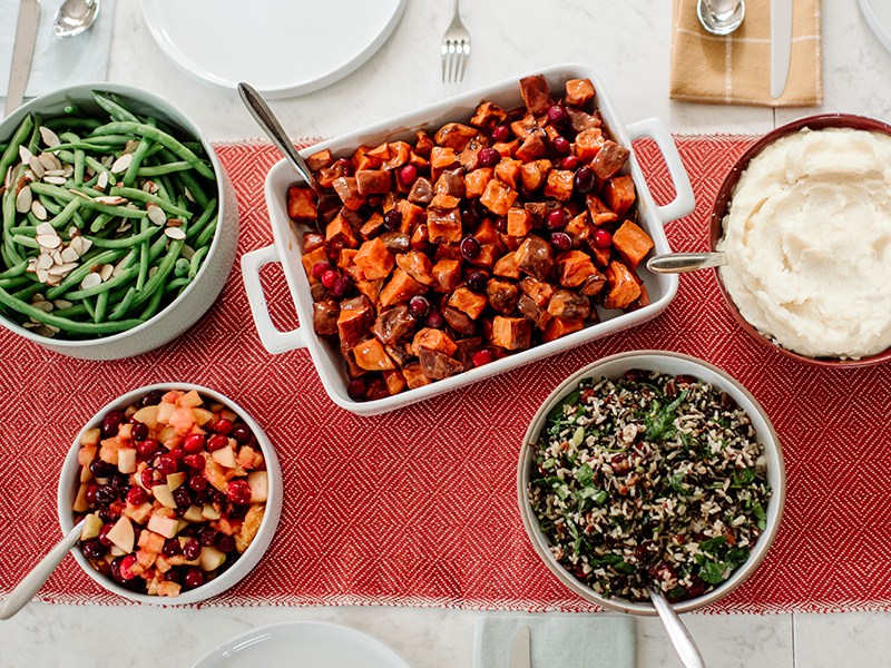 Thanksgiving sides to go