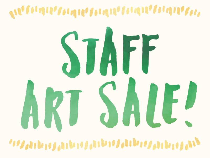TCCP Staff Art Sale