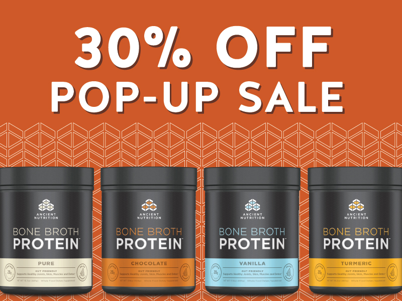 30% Off Ancient Nutrition