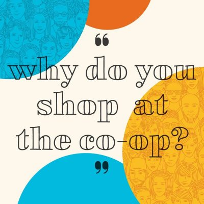 "Introducing Faces & Voices – a year long initiative celebrating our beautifully diverse community! 🖤️🧡We're kicking off with a collaborative art project  inviting you to share your stories about why you shop at the co-op. 🛒With your stories we'll create a permanent art installation at our 3 stores! How to participate: Respond to the question ""Why do you shop at the co-op?"" by… 🗣Commenting on this post with your response, responding in our stories, or sending us a dm! 🖊Stopping by the store to fill out a response form in person – we welcome doodles! Visiting our link in bio to respond on our website! Stay tuned as we share the stories of our community and bring the art installation to life!"