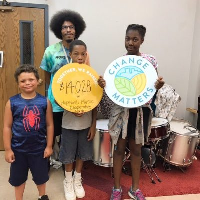 Wow! 🥳Thank you to all of the shoppers who chose to round up in the month of July – your generous donations amounted to $14,028 to support Hopewell Music Cooperative North!  @hopewellmusic connects and empowers the North Minneapolis community through high quality music programming accessible to all, regardless of age, ability, or circumstance.  Your change matters, thank you for for rounding up your purchases to positively impact our community!