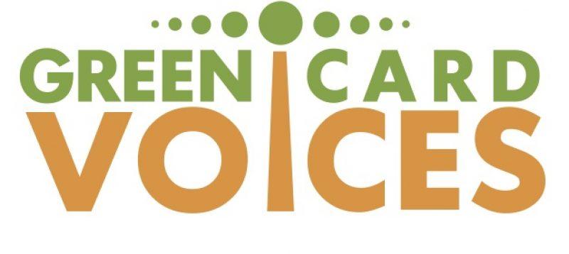 Green Card Voices Logo