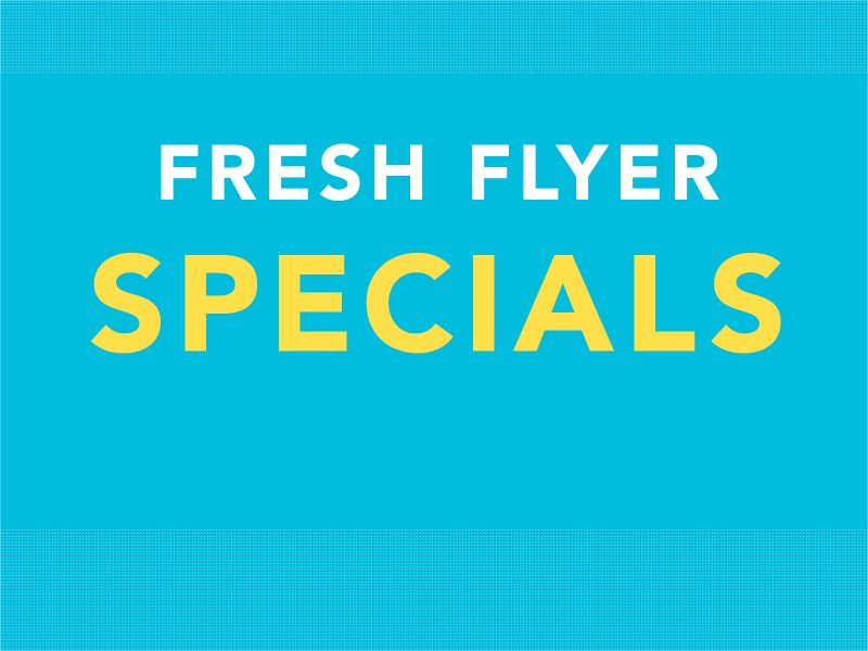 Fresh Weekly Specials