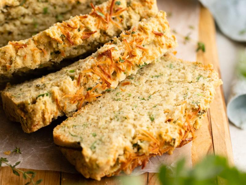 Savory Parmesan & Herb Quick Bread